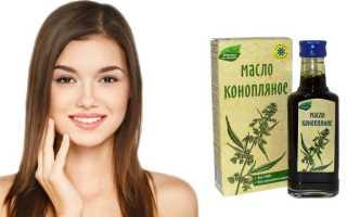 Применение конопляного масла для волос: для роста, против перхоти и ломкости прядей