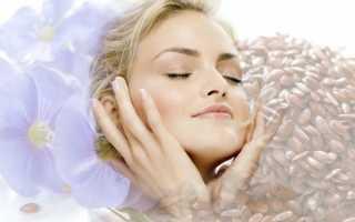 Способы применения льняного масла для лица от морщин