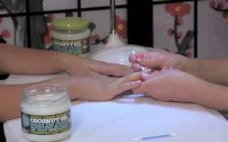 Рецепты с применением кокосового масла для рук, для ногтей и кутикулы