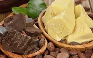 Масло какао: применение в чистом виде, масках и кремах для лица