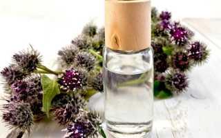 Репейное масло для лица: способы применения в домашних условиях