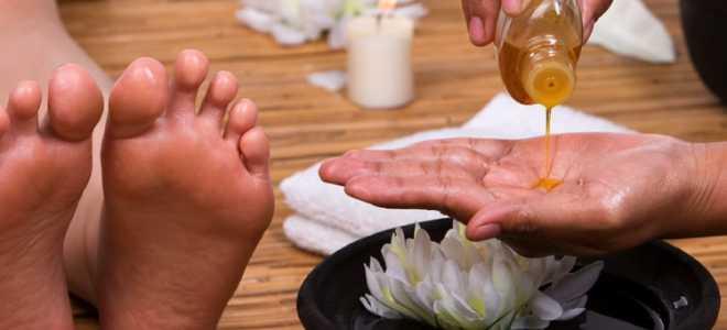 Масло для ног: касторовое, кокосовое, эфирные масла для красоты и гладкости пяточек