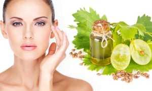 Масло виноградной косточки для лица: польза и советы по применению