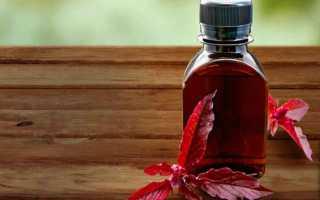 Амарантовое масло для лица: польза, применение, маски