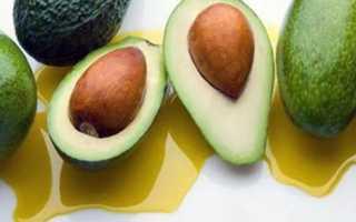 Как использовать масло авокадо для волос. Маски с маслом авокадо