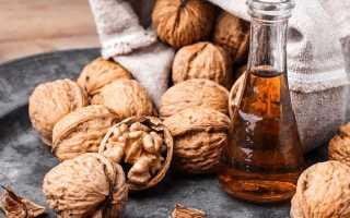 Способы применения масла грецкого ореха для лица