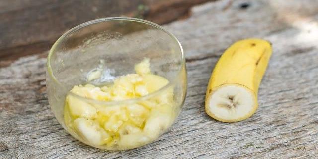 Масло кокоса и банан
