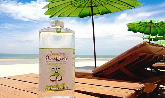 Защита от солнца с маслом кокоса