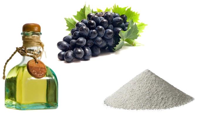 Глина и виноградное масло