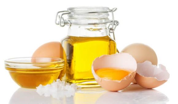 Льняное масло и яйцо