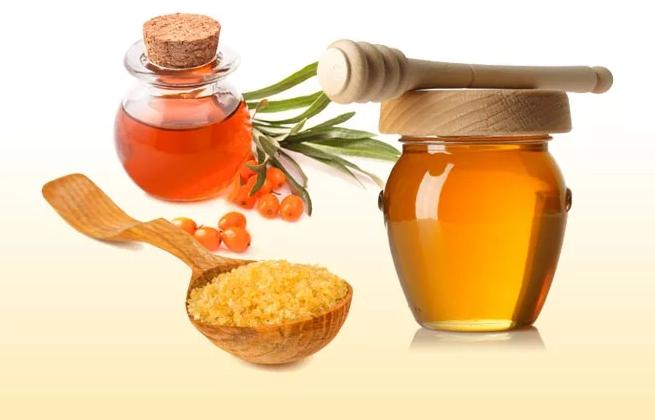 Облепиховое масло и мед