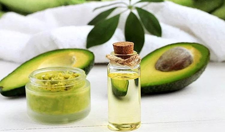 Авокадо и масло оливы
