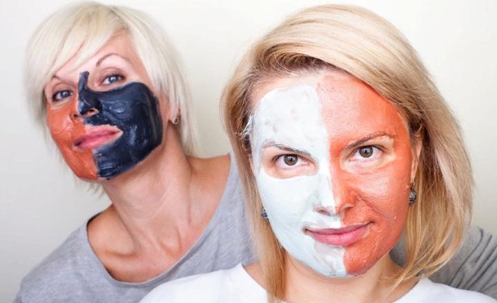 Глиняные маски