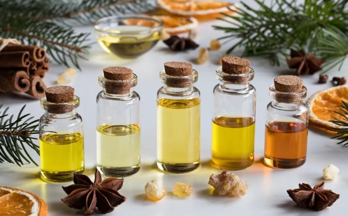 Базовые и эфирные масла для блеска волос