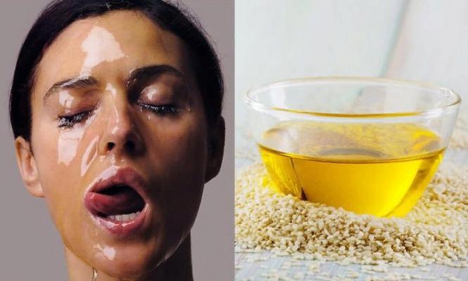 Кунжутное масло для лица в чистом виде