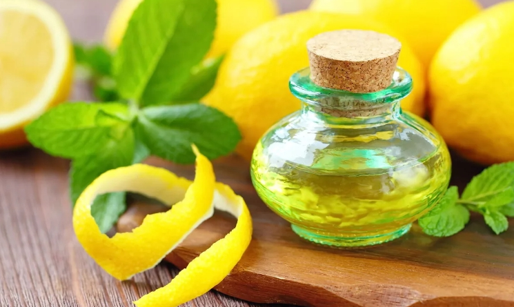 Масло макадамии и лимон