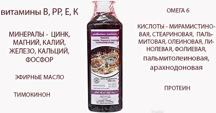 Масло тмина-состав
