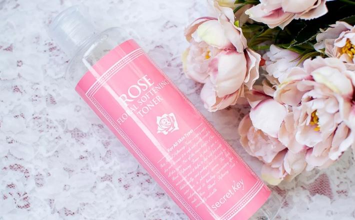 Тоник с розовым маслом