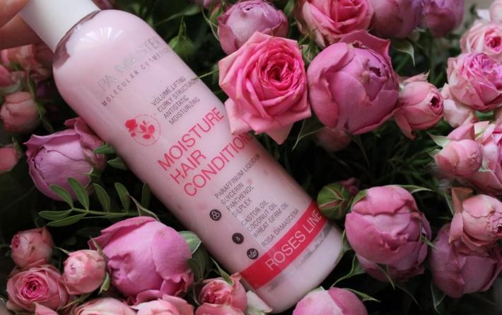Бальзам для волос с розовым маслом