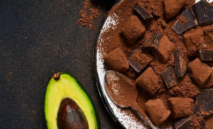 Какао и авокадо