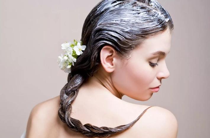 Маска для волос с растительным маслом
