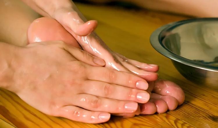 Миндальное масло для ног