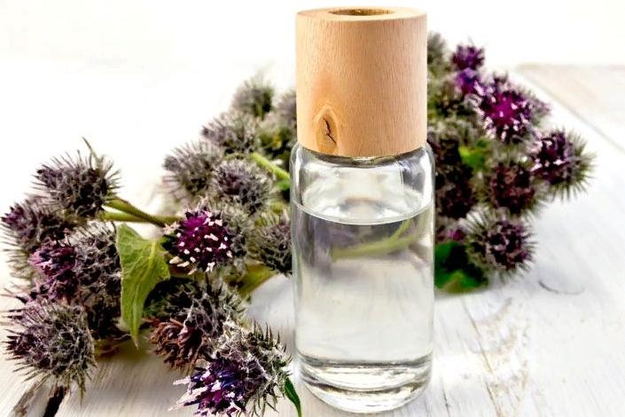 Репейное масло для кожи лица