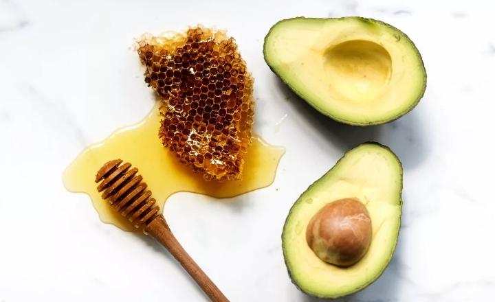 Авокадо и мед