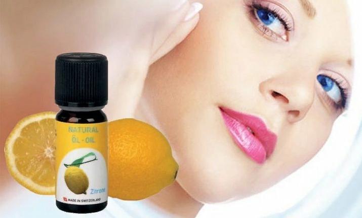 Лимонное масло для лица