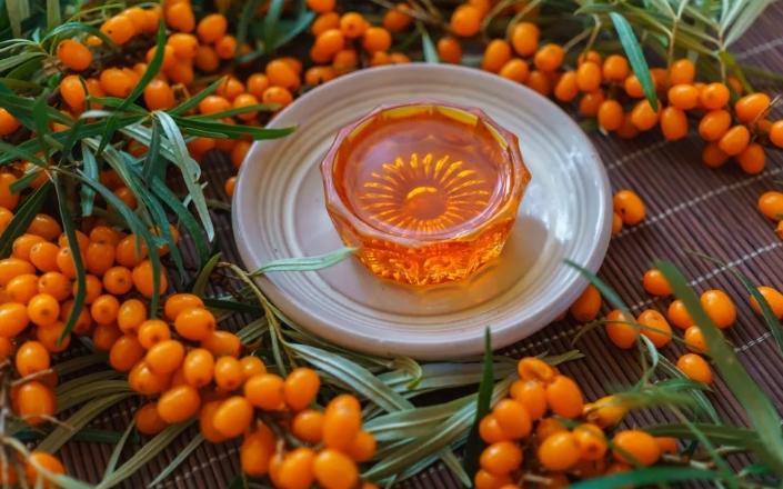 Масло из ягод облепихи
