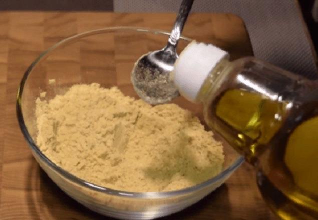 Масло из горчичного порошка