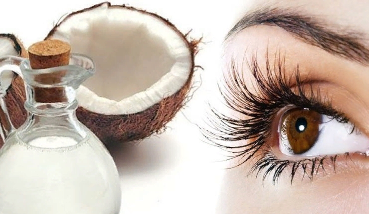 Кокосовое масло под глаза
