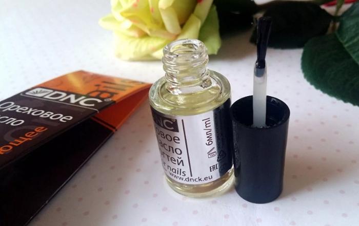 Ореховое масло для ногтей