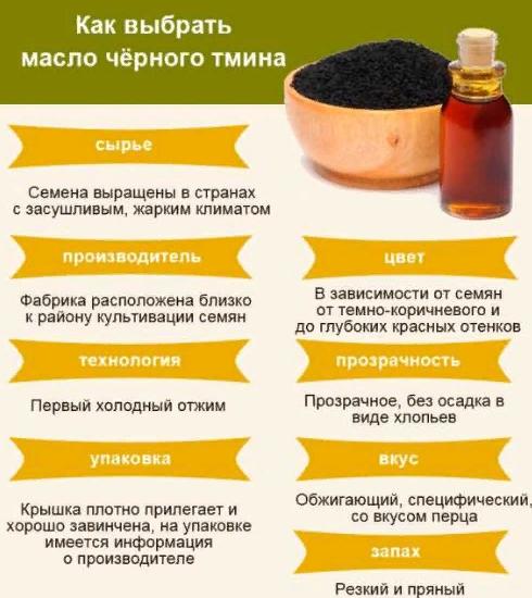 Как выбрать тминное масло