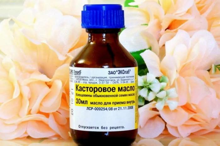 Касторовое масло для внутреннего применения